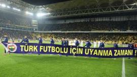Çok konuşulan pankart için Fenerbahçe'ye ceza!