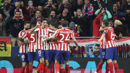 Atletico Madrid son şampiyon Liverpool'u devirdi