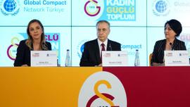 Galatasaray, BM Küresel İlkeler Sözleşmesi'ni imzaladı