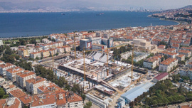 Göztepe Stadı yükseliyor