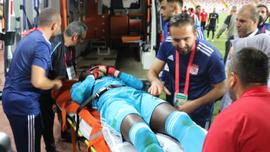 Sivasspor - Beşiktaş maçında korku dolu anlar!
