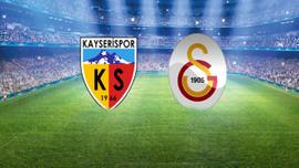 Galatasaray Kayseri deplasmanında 3 puanı son dakikada aldı