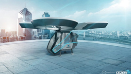 Yerli uçan otomobilin prototipi hazır
