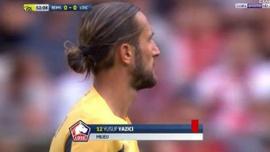 Yusuf Yazıcı kırmızı kart gördü, Lille mağlup oldu!