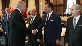 Beştepe'de büyükşehir başkanları toplantısı yapıldı