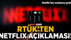 RTÜK'ten Netlix açıklaması
