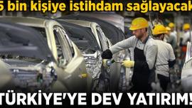 Alman otomobil devi Volkswagen'den Türkiye'ye dev yatırım