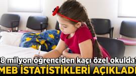 MEB eğitim öğretim istatistiklerini açıkladı! 18 milyon öğrenciden kaç