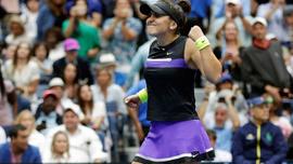ABD Açık'ta Bianca Andreescu'dan tarihi şampiyonluk