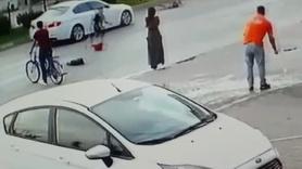 Otomobilin çarptığı küçük kız
