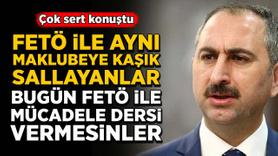 Bakan Gül'den çok sert 'FETÖ' tepkisi!