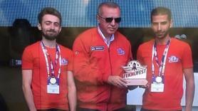 Elazığlı gençler TEKNOFEST'te Türkiye birincisi oldu