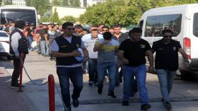 Halkı galeyana getirdiği öne sürülen 38 kişi adliyeye sevk edildi