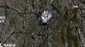 Göktürk uydusu kutsal toprakları görüntüledi