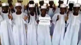 Sudanlı yetimlerden Türkiye'ye dua