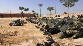 Barış Pınarı Harekatı'nda günden kalan kareler.