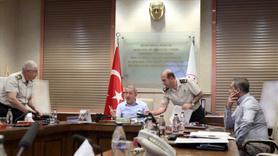 Milli Savunma Bakanlığı'nın yoğun mesaisi devam ediyor