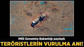MSB görüntüleri paylaştı! YPG'li teröristler böyle öldürüldü