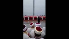 Şehitler Abidesi'nde Mehmetçik için dua