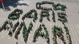 400 öğrenciden Mehmetçiğe anlamlı destek