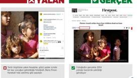 """""""Savaştan etkilenen çocukların"""" fotoğraflarıyla manipülasyon."""