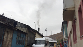Soğuk hava etkisini gösterdi, Karlıova'da sobalar kuruldu