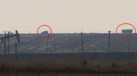 Rus askerleri Kamışlı'daki petrol kuyularını böyle koruyor