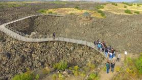 Manisa Volkanik Jeopark'a akın var