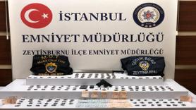 Zeytinburnu'nda polis meyve sandıkları arasında uyuşturucu ele