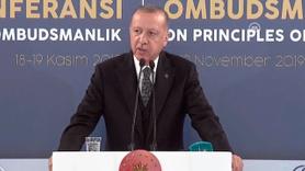 Cumhurbaşkanı Erdoğan, Ombudsmanlık Konferansı'nda konuşuyor