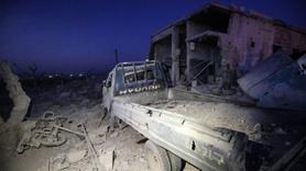 İdlib'de sığınmacı kampına füzeli saldırı