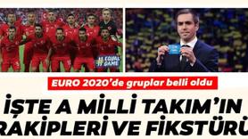 EURO 2020'de Türkiye'nin rakipleri belli oldu!