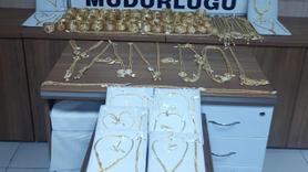 2 milyon liralık altınları kuyumcudan alan şüpheliler yakalandı