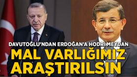 Davutoğlu'ndan Erdoğan'a hodri meydan