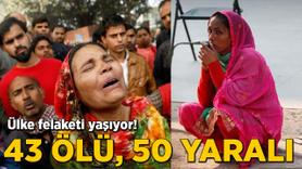 O ülke felaketi yaşıyor! 43 kişi hayatını kaybetti