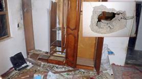Antalya'da eve yıldırım düştü