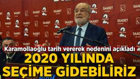 Temel Karamollaoğlu: 2020'de seçime gidebiliriz