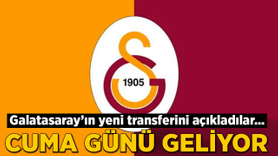 Galatasaray'ın yeni transferini açıkladılar