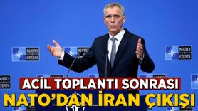 Acil toplantı sonrası NATO'dan İran çıkışı