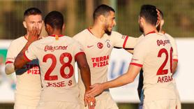 Galatasaray'dan 3 gollü prova!