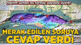 Deprem uzmanı bu haritayı paylaşıp uyardı!