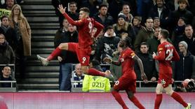 Tottenham'ı yenen Liverpool rekora imza attı