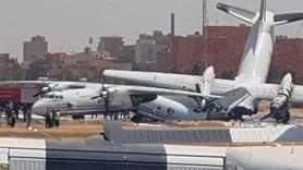 Hartum Havalimanı'nda uçuşlar durduruldu