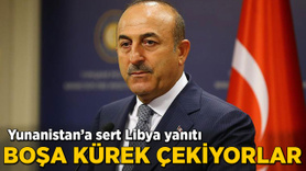 Yunanistan'a sert Hafter tepkisi!