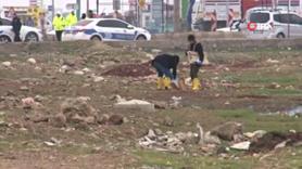 Yol kenarındaki arsada bomba bulundu