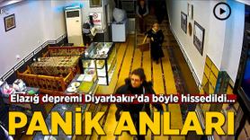 Elazığ depremi Diyarbakır'da böyle hissedildi