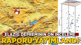 Elazığ depremi ön inceleme raporu yayımlandı