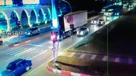 Depreme trafikte yakalandılar