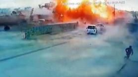 Azez'de bombalı terör saldırısı