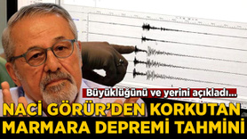 Naci Görür'den korkutan Marmara depremi tahmini